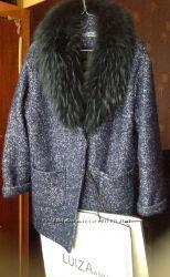 Пальто натуральный воротник шерсть