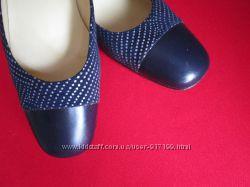 Кожаные итальянские туфли San Marina 39 размер.