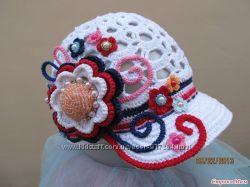 Панамка кепка повязка и шляпка на лето