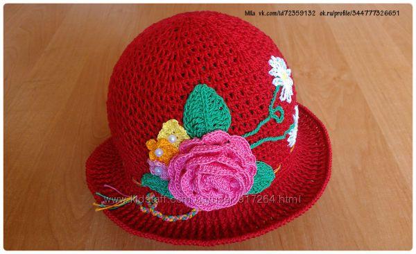 Шляпка для малышки
