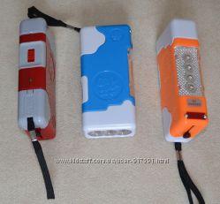 Фонарик двухрежимный , светодиодный , аккумуляторный