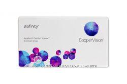Линзы Biofinity
