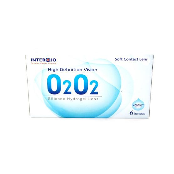 Месячные контактные линзы O2O2