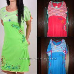 Пляжное, домашнее платье, ночная рубашка  размер 50-56