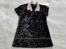 Шикарное  платье с мягкими переворачивающимися паетками Gaialuna, Италия