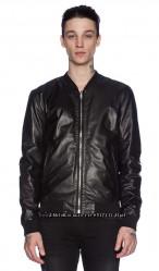 шикарная лайковая кожаная куртка дорогого бренда BLK DNM