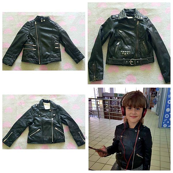 Кожаная куртка косуха Diesel, Mango, Nikkie, оригинал