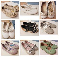 Туфли балетки Burberry, Equerry,  Primigi, Laura Biagiotty, Monsoon, H&M