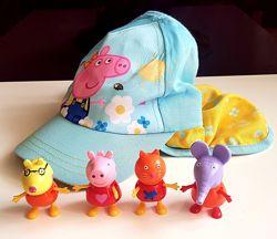 Друзья Пеппы Peppa Pig, оригинал, и кепка George