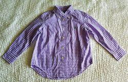 Рубашка в клетку Ralph Lauren, 4-5 лет, оригинал