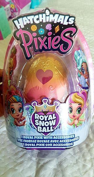 Кукла фея Пиксис Hatchimals Pixies Royal в яйце хатчималс