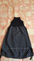 Теплое Платье для беременной.