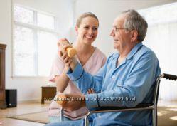 сиделка-медик, опыт работы в больнице и семьях