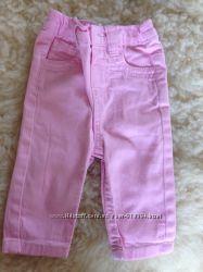 Штаны  джинсы фирменные EARLY DAYS 3-6 мес