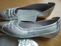Кожаные спортивные туфли Lacoste 38