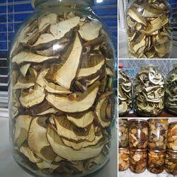 белые грибочки 3-х литровая банка
