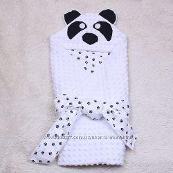 Летний конверт-одеяло на выписку Панда