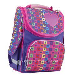 Ранец рюкзак школьный каркасный 553324 Rainbow Смарт