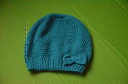 Берет-шапка з бантом