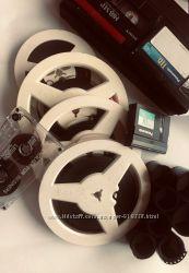 Оцифровка видео, аудио кассет, фото пленок, бабин 8мм от 20грнчас
