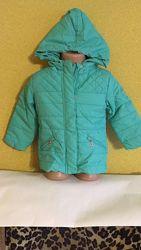 Курточка демисезонная для девочек на рост 92, 98, 104, 110, 116, 122