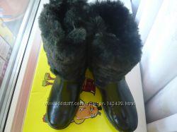 Обалденные  зимние сапожки 28 размер, дешевле закупки