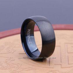 Мужские кольца из стали 316L черное серебряное золотое кольцо обручальные