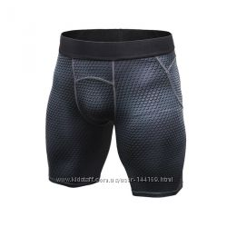 Мужские шорты тайтсы для спорта
