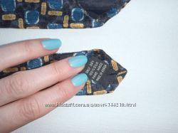 Шелковый галстук ручной работы GENTLEMAN LONDON. Дешево