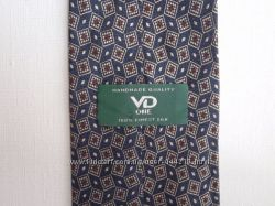 Шелковый галстук ручной работы VD ONE. Дешево