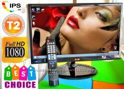 FULLHD IPS Монитор Телевизор LG 22MA53D 22 Дюйма T2 VGA HDMI USB