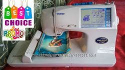 Швейная вышивальная машина Brother Super Galaxie 2100 машинка 900 операций