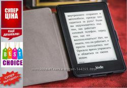 Электронная книга с подсветкой Amazon Kindle Paperwhite  смарт чехол