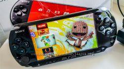 Продам игровую приставку Sony psp 3008 Piano Black прошитая карта 2gb