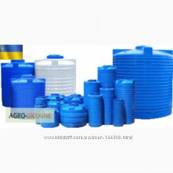 Бочки, баки, емкости пластиковые до 20000 литров