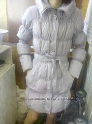 Идеальный теплый пуховик пальто курточка