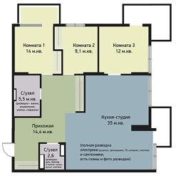 Квартира 3 к, Щербаковского, 52, Киев, ст. м. Нивки