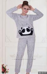 Женская теплая пижама COCOON 5177 M, L