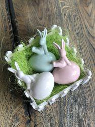 Пасхальный декор Венки, кролики.