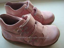 кожаные деми ботинки elefanten, р. 25, стелька 16 см