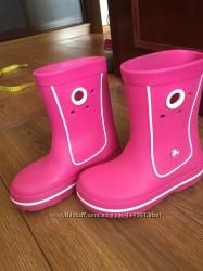 Детские сапоги Crocs Crocband Jaunt Boot в размере 33, оригинал