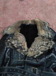 Лаковая куртка на цегейке