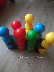 Игрушка Боулинг 12 элементов