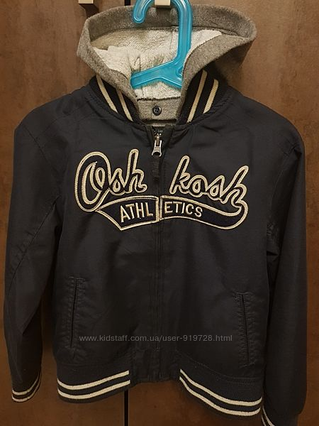 Куртка -бомбер Oshkosh р.5-6 лет
