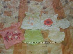 футболочка футболка набор для девочки шорты и трусики в подарок