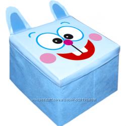 Пуфик-скринька  для іграшок Зоопарк