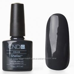 Шеллак Shellac CND Asphalt качественный гель лак, шелак