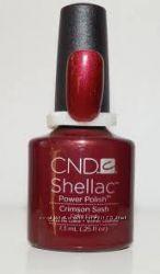 Качественный Shellac CND Crimson Sash