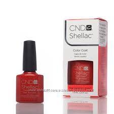 Качественный Shellac CND Fine Vermilion