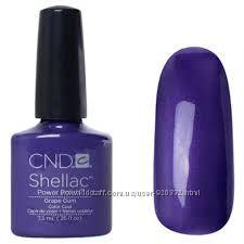 Качественный Shellac CND Grape Gum